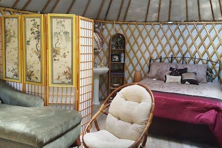 Yurting on the Canoochee River  Yurt