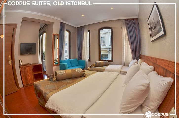 Corpus Suites Old Istanbul - Fatih - Bed & Breakfast