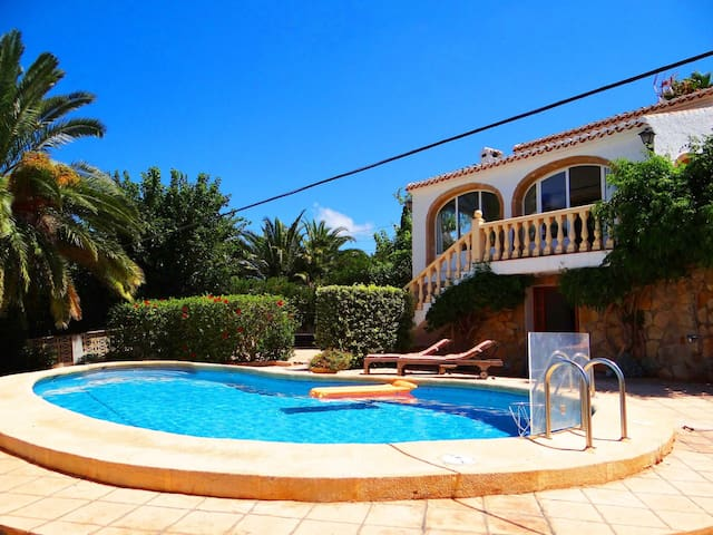 Holiday villa perfect for family holidays in Javea - El Tosalet - Hus