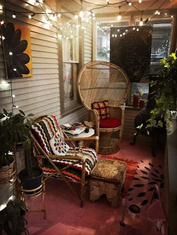 Shared porch space until 8PM
