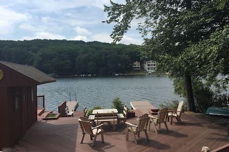 Large Families, Reunions, Lake Front Property - House