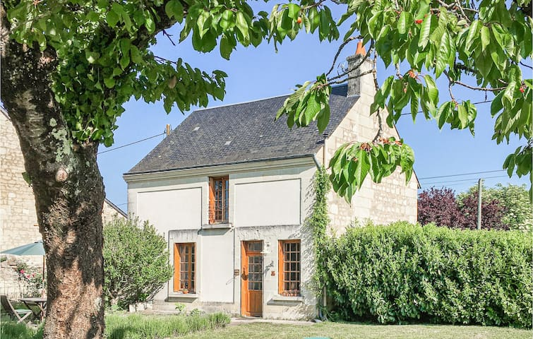 Holiday cottage with 2 bedrooms on 65m² in Chinon
