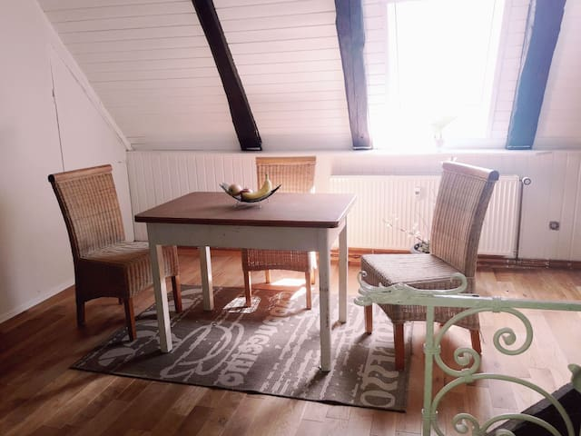 Ganze Wohnung - Dachgeschoss nahe Marburg