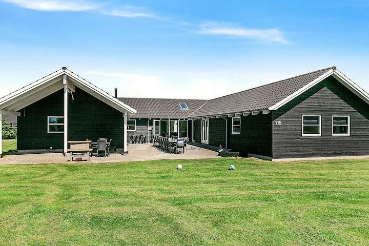 Gemütliches Ferienhaus in Vaeggerlose (Dänemark) mit Sauna