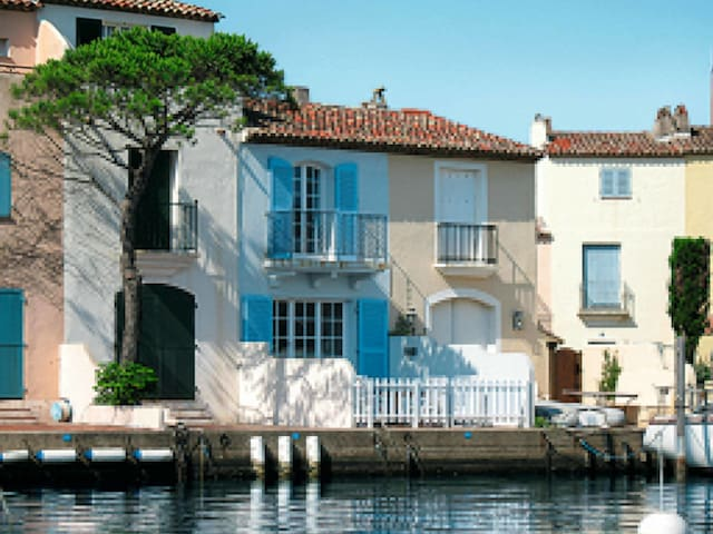 Terraced house in Port Grimaud for 4 persons