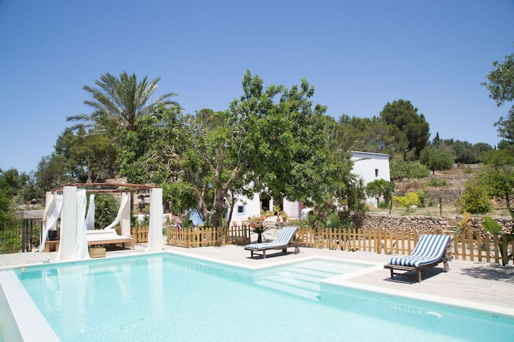 Magnifique villa traditionnelle à Ibiza