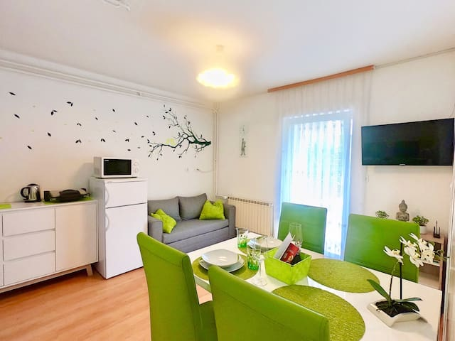 ⭐️APT Green Paradise ⭐️ great for 2 PERSON ❤️