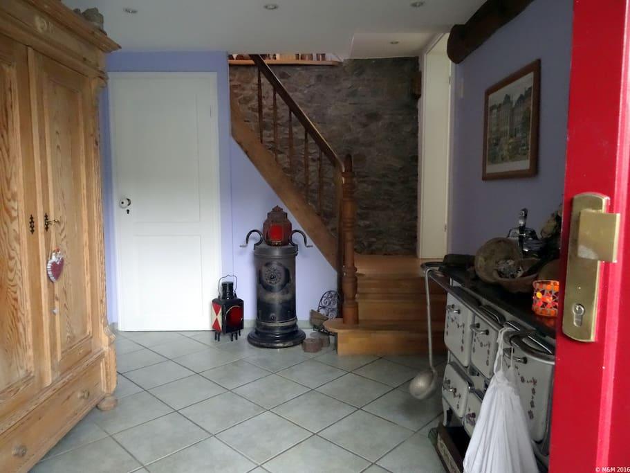der Eingangsbereich.....