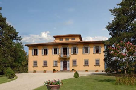 Panoramic villa with large park and swimming pool - Vicchio - Willa