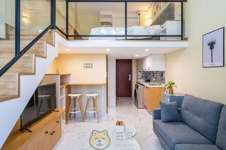 珠海北欧小清新/酒店式公寓/北欧小清新单床房