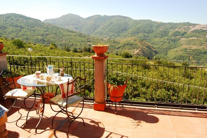 House with Mountain View  in Sicily - San Salvatore di Fitalia - Casa