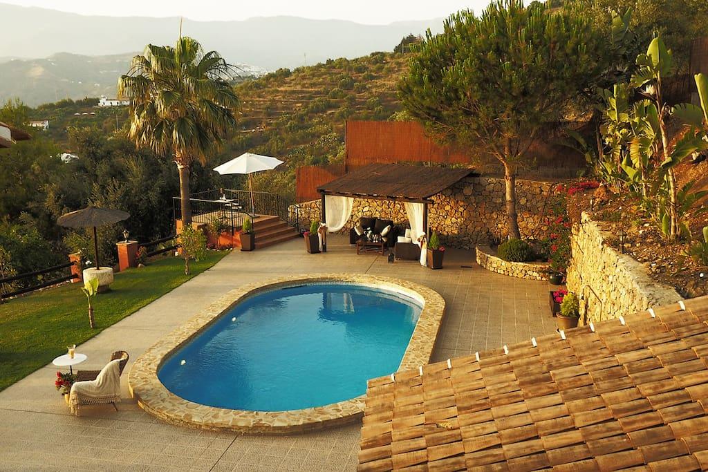 villa el pino avec piscine priv e maisons louer
