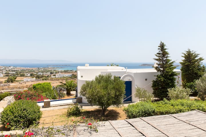 The view from the 1st floor terrace