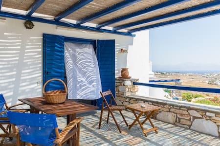 Family House, Paros Golden Beach - Tzanes - Vila
