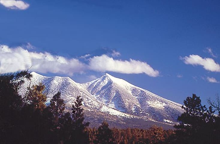 Breathtaking mountain views await in every direction