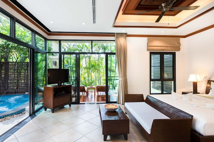 Romantic 1BR / Nai Harn Baan-Bua Villas - Muang - Villa