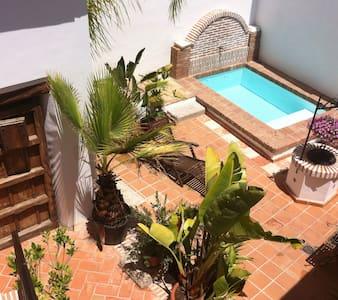 BBQ, sunny patio, swimming pool - グラナダ