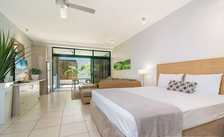 Simply the best located apartment in Port Douglas