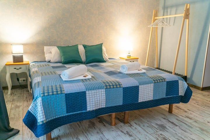 Spacious and stylish superior twin room