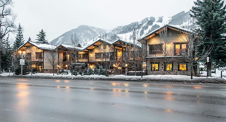 At the heart of Aspen, two-bedroom suite.