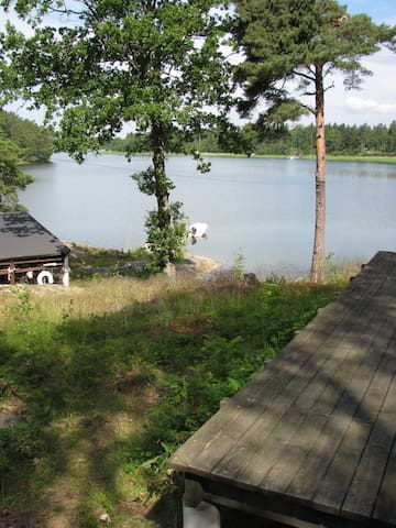 House Stockholm archipelago  - Bergshamra - Houten huisje