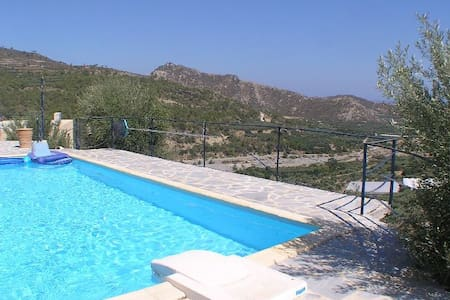 Villa S-E Crete with private pool - Myrtos - Willa