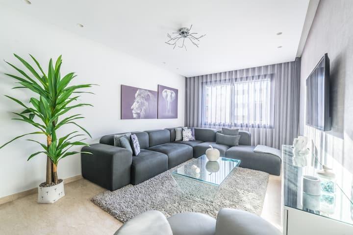 La Casa 30-Cosy flat in the heart of Casablanca ✨