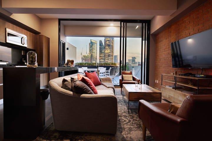 Condesa Apartment with Terrace!! - Ciudad de México - Appartement
