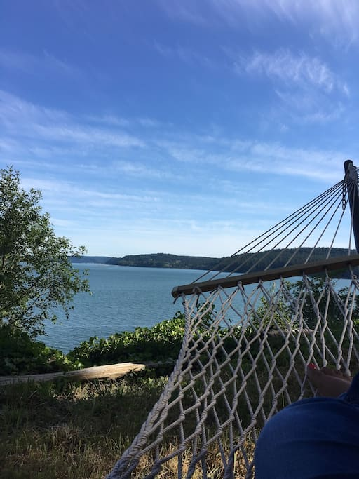 Enjoy the scenery from the hammock!