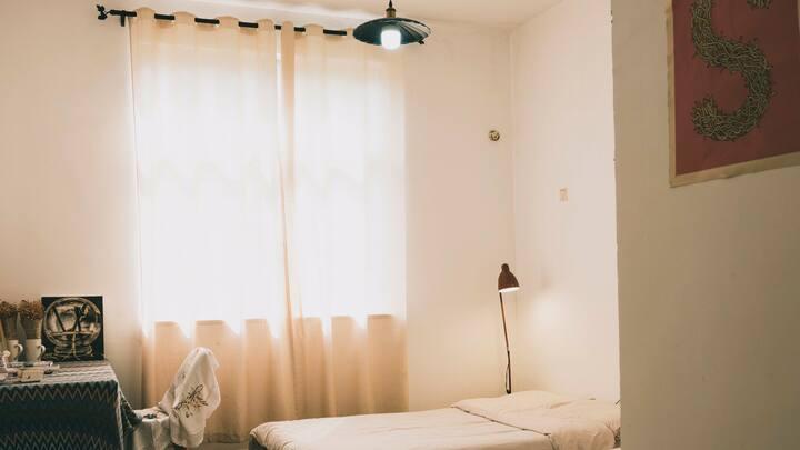 岳麓山脚下【幸福疗养院】·阳光双人房。
