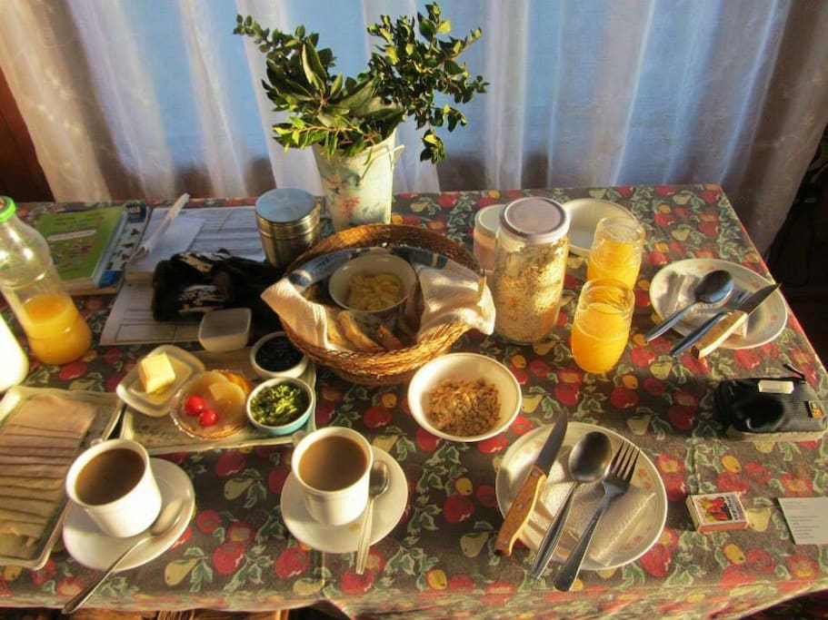 Organic Breakfast.