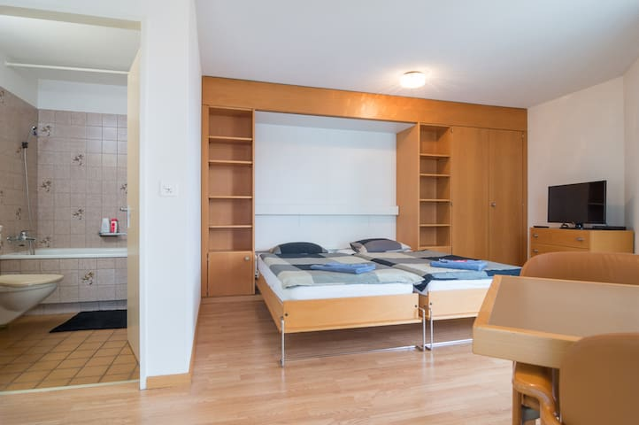 A room at Zurich HB and city center - Zurych
