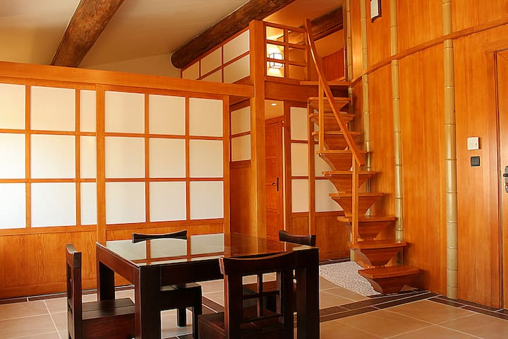 L'appartement JAPON à VALSOYO - Upie - Apartmen