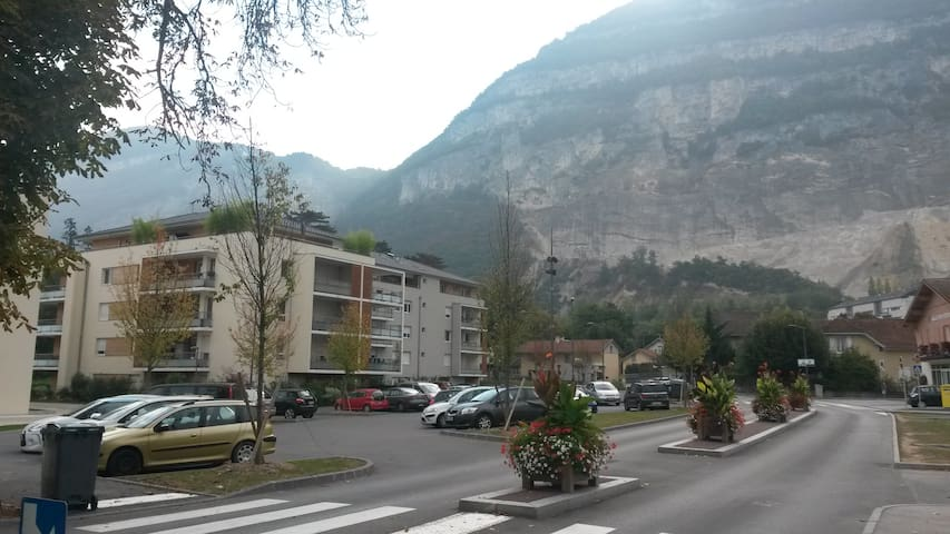 Calm apartment facing the Saleve and Geneva CH. - Etrembières - Apartment