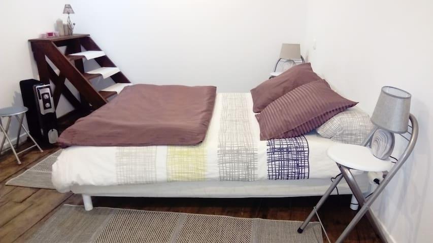 Chambre - salle bain privative - accès indépendant - Dax - Apartament