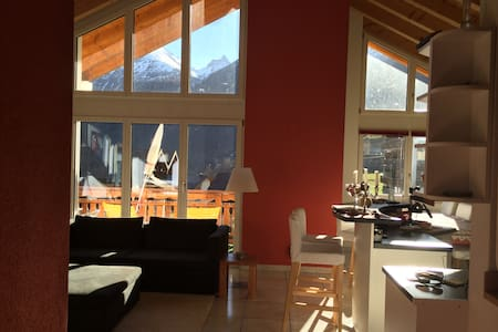 Fabelhaftes Penthouse-Chalet in CH - Kippel