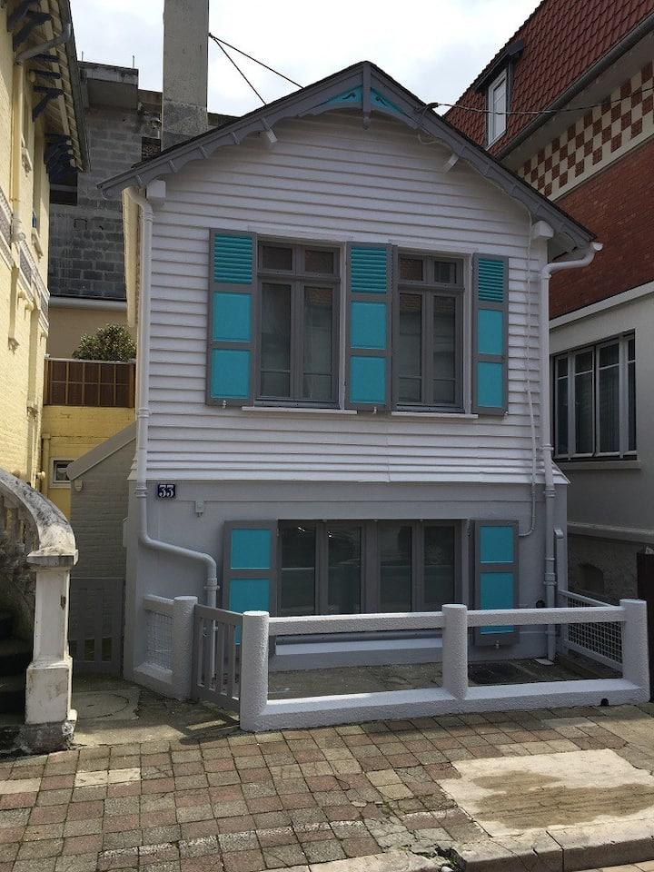Maison à louer dans le centre du Touquet