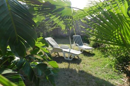relaxation, mer et thermes dans le jardin - Santa Maria Coghinas - House