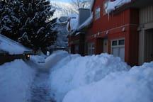 Freshly shoveled!