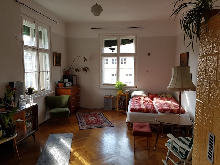 Room in a old House in Leipzig Centre (North)