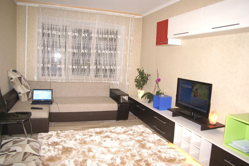 The room is provided with cable  TV and wireless internet.