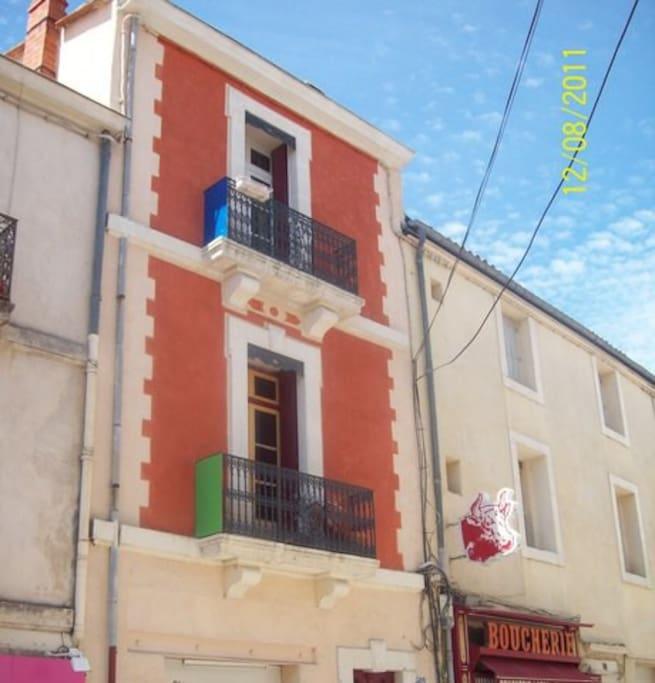 Chambre chez l 39 habitant calme en ville maisons de ville for Chambre en ville vidal