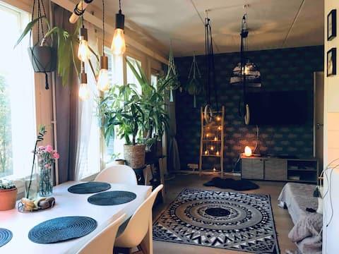 Cozy Bohem style apartment in Jyväskylä Finland