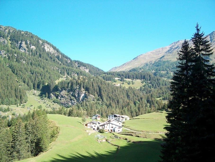 View of Pisciadel (Summer)