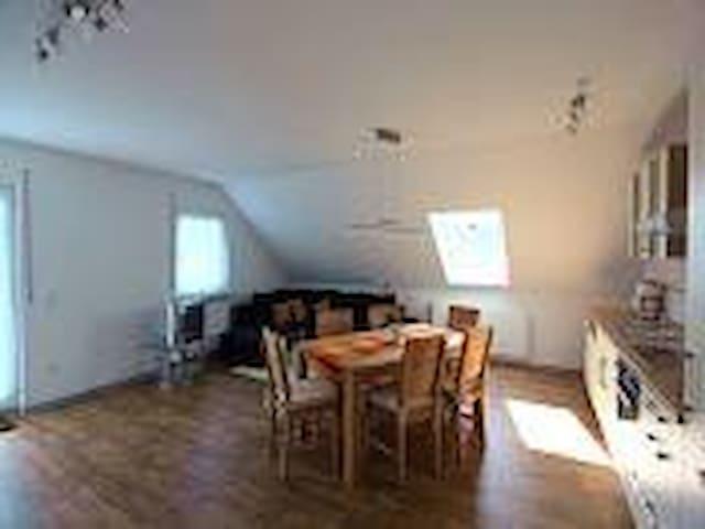 anjas ferienwohnung im schwalbenhof - Bad Herrenalb - Leilighet
