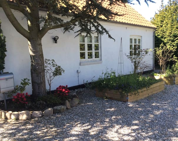 Byhus med lukket have, tæt på havn - Ebeltoft - Hus