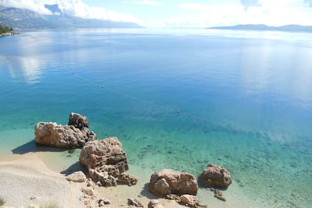 60m above most beautiful beach W - Makarska ,  Mimice - 公寓