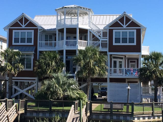Happy Hours - 9BR Luxury Home at Ocean Isle Beach - Ocean Isle Beach - House