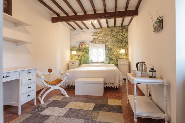 Luxury stone villa with Jacuzzi & panoramic view