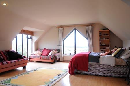 Amazing views from cosy loft room. - Killarney